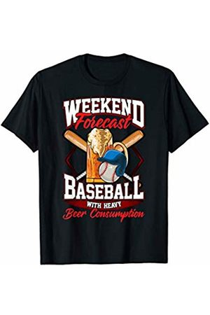 NS Baseball Co. Baseball Weekends Are For Baseball and Beer Funny Sports T-Shirt