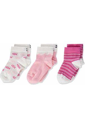 Tommy Hilfiger Baby Girls' Th Sock 3p Giftbox Calf