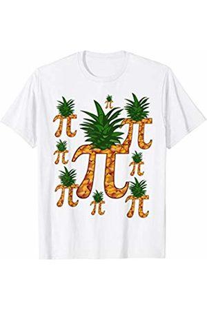 Miftees Raining Pineapple Pi Funny Pi-neapple Pi T-Shirt