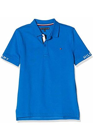 Tommy Hilfiger Boy's Sleeve Text Polo S/S Shirt