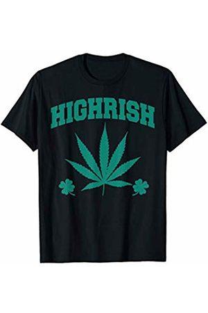 Miftees Stoner Tees Highrish funny High Irish High-Rish 420 Saint Patrick's day T-Shirt
