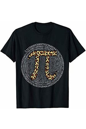 Pi Happy Pi day Funny Cool Gifts Tee For Men Women Funny Pi Leopard Happy Pi Day 2020 - Teacher Student Gifts T-Shirt