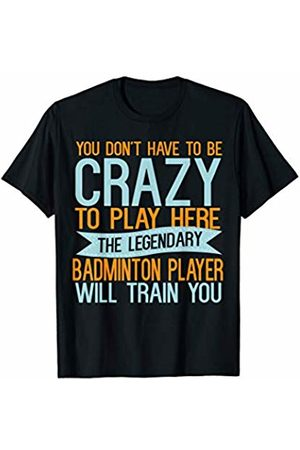 Sports Lover Gifts God Be With Sport Player Sports Lover Gifts God Be With Badminton Player T-Shirt