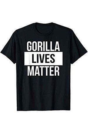 Forest Ape Gorilla Zoo Gifts Gorilla Lives Matter Funny Endangered Species T-Shirt