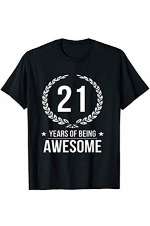 Funny 21st Birthday Shirts 21 Years Old Gifts T-Shirt