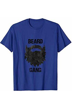 Bearded Men No Shave Father's Day Apparel Mens Beard Gang - Funny Mens Facial Hair T-Shirt