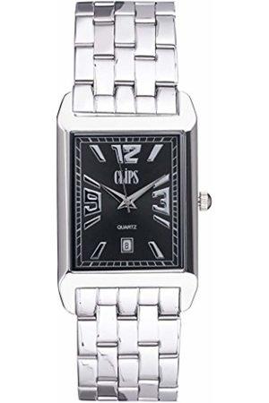 CLIPS Men's Quartz Watch 553-7001-48 with Metal Strap