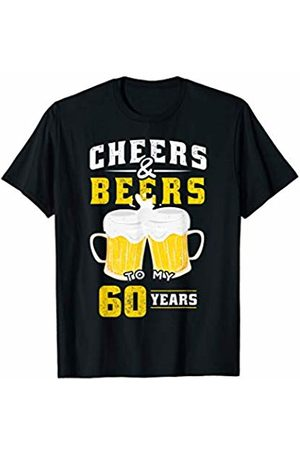 Cheers & Beers Birthday Anniversary Shirts & Gifts Cheers and Beers 60 Years Funny 60th Birthday Alcohol Beer T-Shirt
