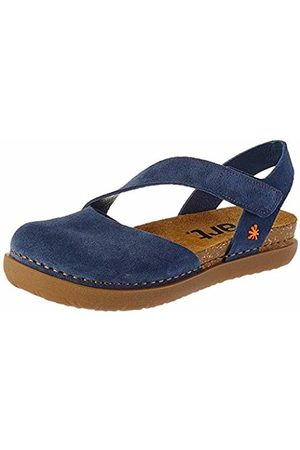 Art Women's 1712 Skin Back Rhodes Closed Toe Sandals, (Denim Denim)