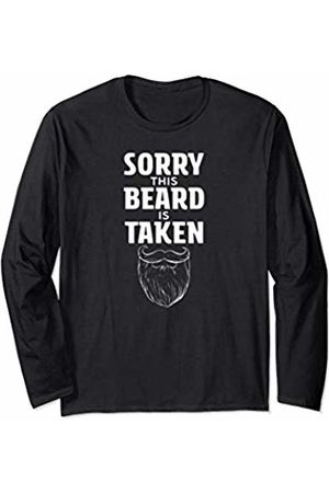 Mens Tee Co. Mens Sorry This Beard is Taken Valentines Day Gift for men Long Sleeve T-Shirt