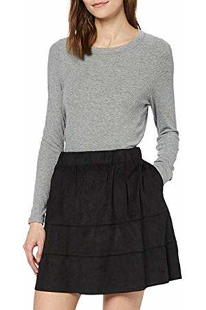 Noisy May Women's Nmlauren Faux Suede Skirt Noos