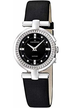 Candino Women's Quartz Watch with Dial Analogue Display and Leather Strap C4560/2