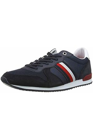 Tommy Hilfiger Iconic Material Mix Runner, Men's Low-Top Sneakers, (Desert Sky Dw5)
