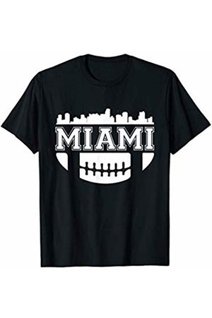 American Football Shirts Co. Miami Florida Football Gift Game Day USA American Sport Team T-Shirt