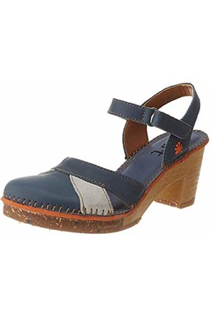 Art Women's 0313 Grass Amsterdam Open Toe Sandals, (Jeans Jeans)