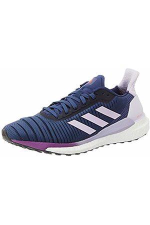 adidas Women Shoes - Women's Solar Glide 19 W Running Shoe, Tech Indigo/FTWR / Tint