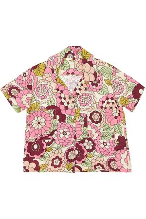 DODO BAR OR Flower Print Viscose Shirt