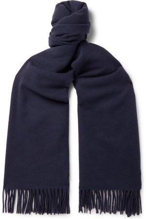 Acne Studios Men Scarves - Canada Fringed Mélange Wool Scarf