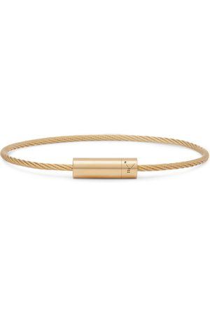 Le Gramme Men Bracelets - Le 11 Brushed 18-Karat Bracelet