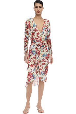 Atlein Lvr Exclusive Crepe De Chine Dress