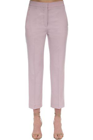 Stella McCartney Flared Tailored Stretch Wool Pants