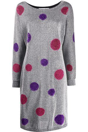 Dior Women Dresses - 2000s pre-owned polka dot lurex dress - Metallic