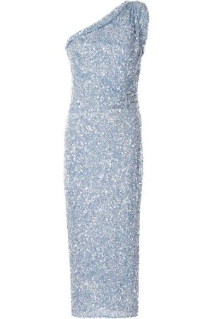 RACHEL GILBERT Reed embellished midi dress