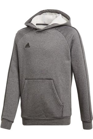 adidas Youth Core 18 Sweat Hooded Tracksuit Top
