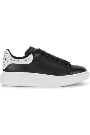 Alexander McQueen Larry Studded Leather Sneakers