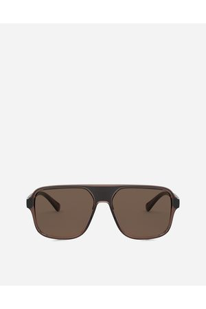 Dolce & Gabbana Men Sunglasses - Sunglasses - STEP INJECTION SUNGLASSES
