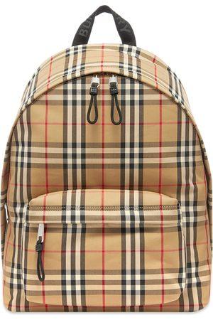 Burberry Jett Check Backpack