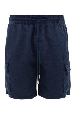 Vilebrequin Baie Drawstring Linen Shorts - Mens