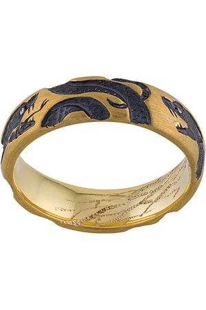 Castro Smith 9kt yellow 3 Serpents ring