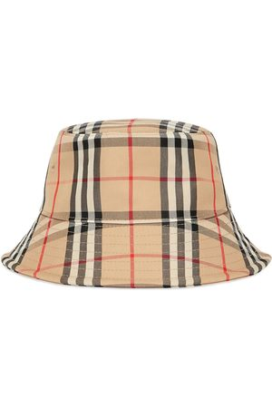 Burberry Vintage Check bucket hat - Neutrals