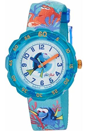 Flik Flak Children Analogue Classic Quartz Watch with Textile Strap FLSP011