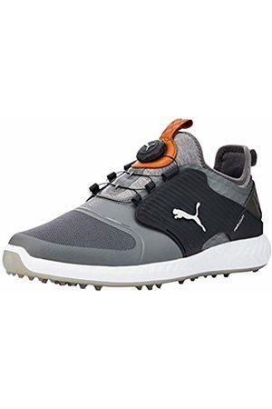 Puma Men's Ignite PWRADAPT Caged DISC Golf Shoes, (Quiet Shade-Bronze 03)