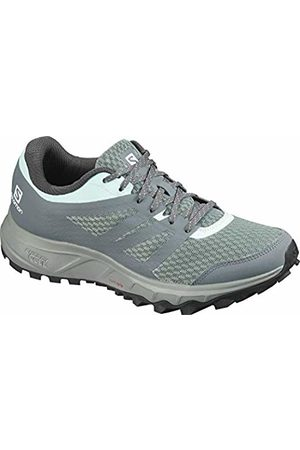 Salomon Women Shoes - Women's Trail Running Shoes, TRAILSTER 2 W, Colour: (Lead/Stormy Weather/Icy Morn)