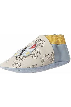 Robeez Baby Girls' Flying Spring Slippers, ( BLEU Clair 113)