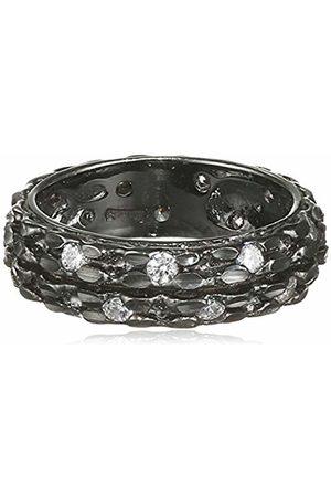MISIS Tamptator Women's Ring - 925 Sterling Silver-White Zirconia