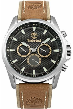 Timberland Men's Analogue Quartz Watch with Leather Strap TBL.95021AEU/01A