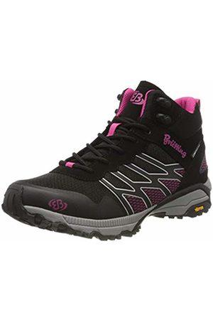 Bruetting Women's Mount Blake High Rise Hiking Shoes, (Schwarz/ Schwarz/ )