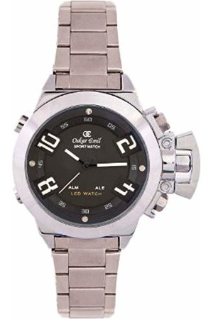 Oskar Emil Sigma Sports Quartz Watch for Men with Dial Analogue - Digital Display and Stainless Steel Bracelet Sigma