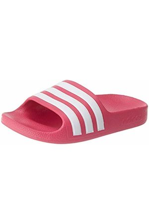adidas Unisex Kids' Aqua Adilette Sandal, Real Magenta/Footwear /Real Magenta