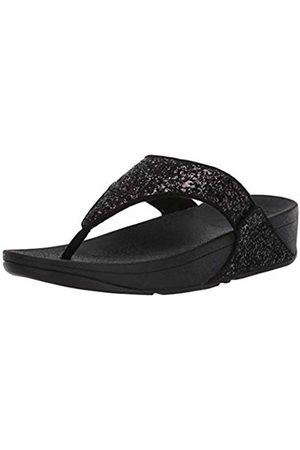 FitFlop Women's LULU Toe Post Open Sandals, ( Glitter 339)