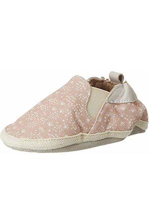 Robeez Baby Girls' Summer Camp Slippers, (Rose 13)