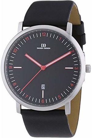 Danish Designs Danish Design Leather Quartz Analog Men's Wristwatch XL 3314466