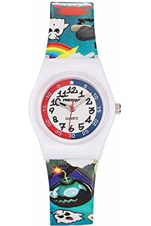 Freegun Child Quartz Watch with Dial Analogue Display and Plastic Strap - EE5193