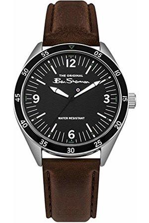 Ben Sherman Mens Analogue Classic Quartz Watch with PU Strap BS007BBR