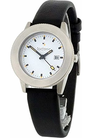 Tectonic Women's Quartz Watch with Dial Analogue Display and Leather Strap 41-1104-14