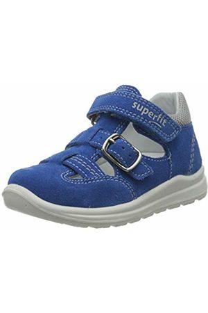 Superfit Baby Boys' Mel Sandals, (Blau/Hellgrau 80)